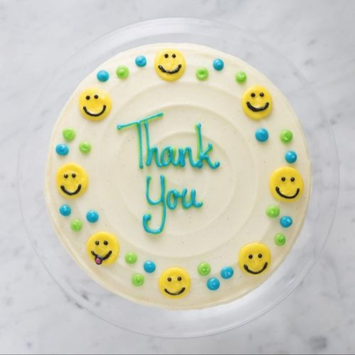 1kg Thank You Cake