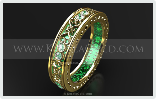 Kerala Gold  Jewellery Design  Ring  1