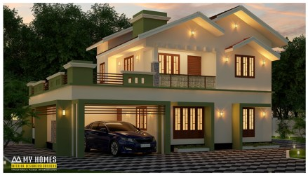 kerala modern plans homes designs simple sq ft floor houses interior bedroom india budget room low 2670 ground exterior balcony
