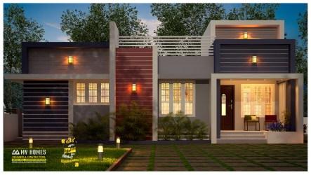 kerala cost low plans houses portfolio designs homes sq 1000 ft latest interior sqft below