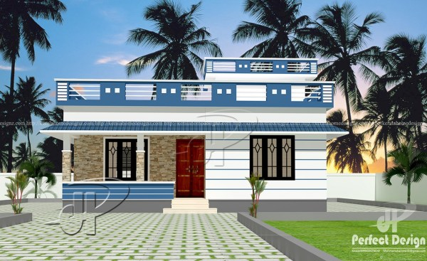 829 SQFT BEAUTIFUL HOME DESIGNS Kerala Home Design