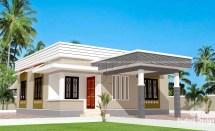 829 Sq.ft Cost Home Design Kerala