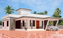 Modern 3 Bedroom House Plans Flat Roof