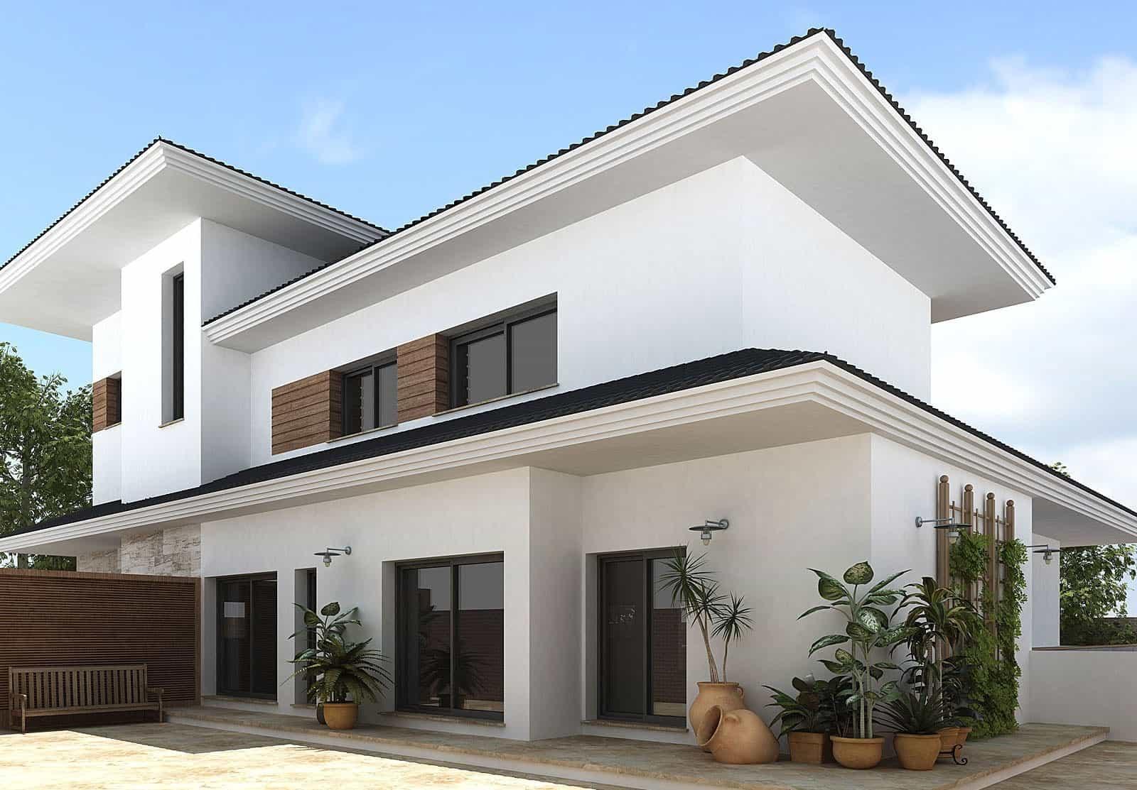 Small Modern House Interior And Exterior Design Novocom Top