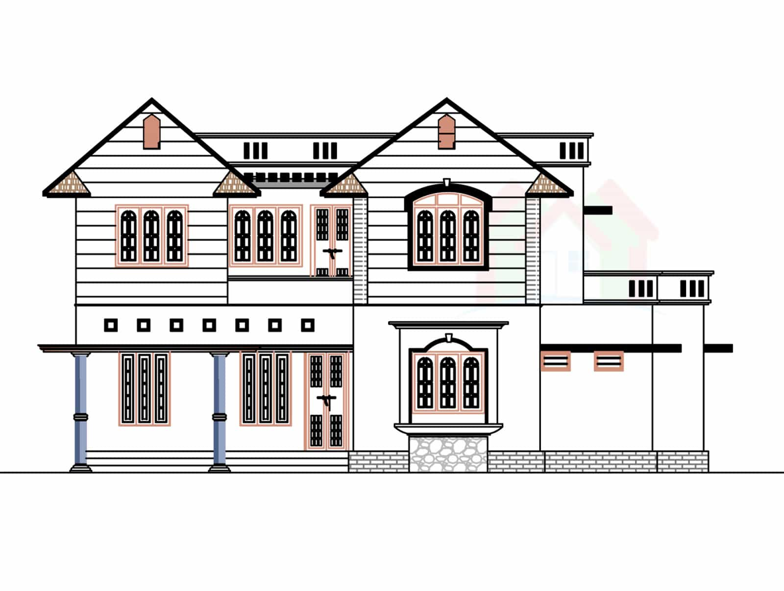 2226 Sq.ft House Design With Kerala House Plans