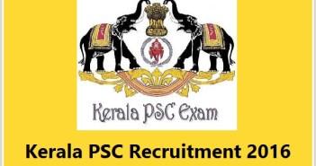 Kerala PSC HSS Teachers Recruitment 2016