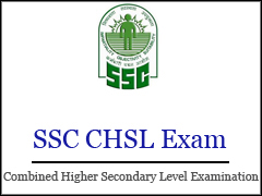 SSC CHSL Recruitment Exam 2016