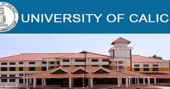 University of Calicut Recruitment 2019