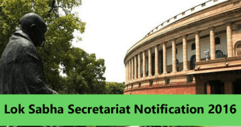 Lok Sabha Secretariat recruitment for various posts
