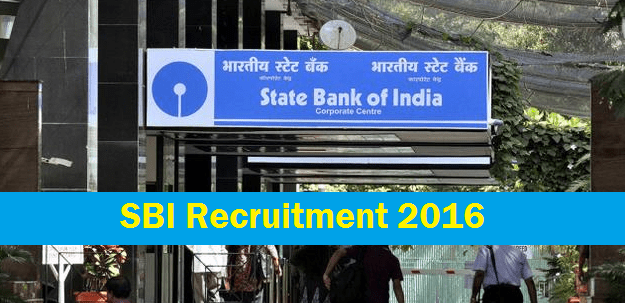 SBI Recruitment for 476 posts