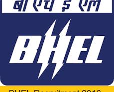 BHEL Recruitment 2016:Apply online(386 Apprentice posts)