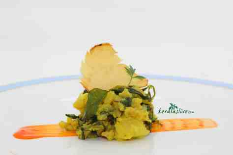 Aloo Methi, or Potatoes with Fenugreek Leaves, is a fragrant and flavourful Indian dish with a unique taste.