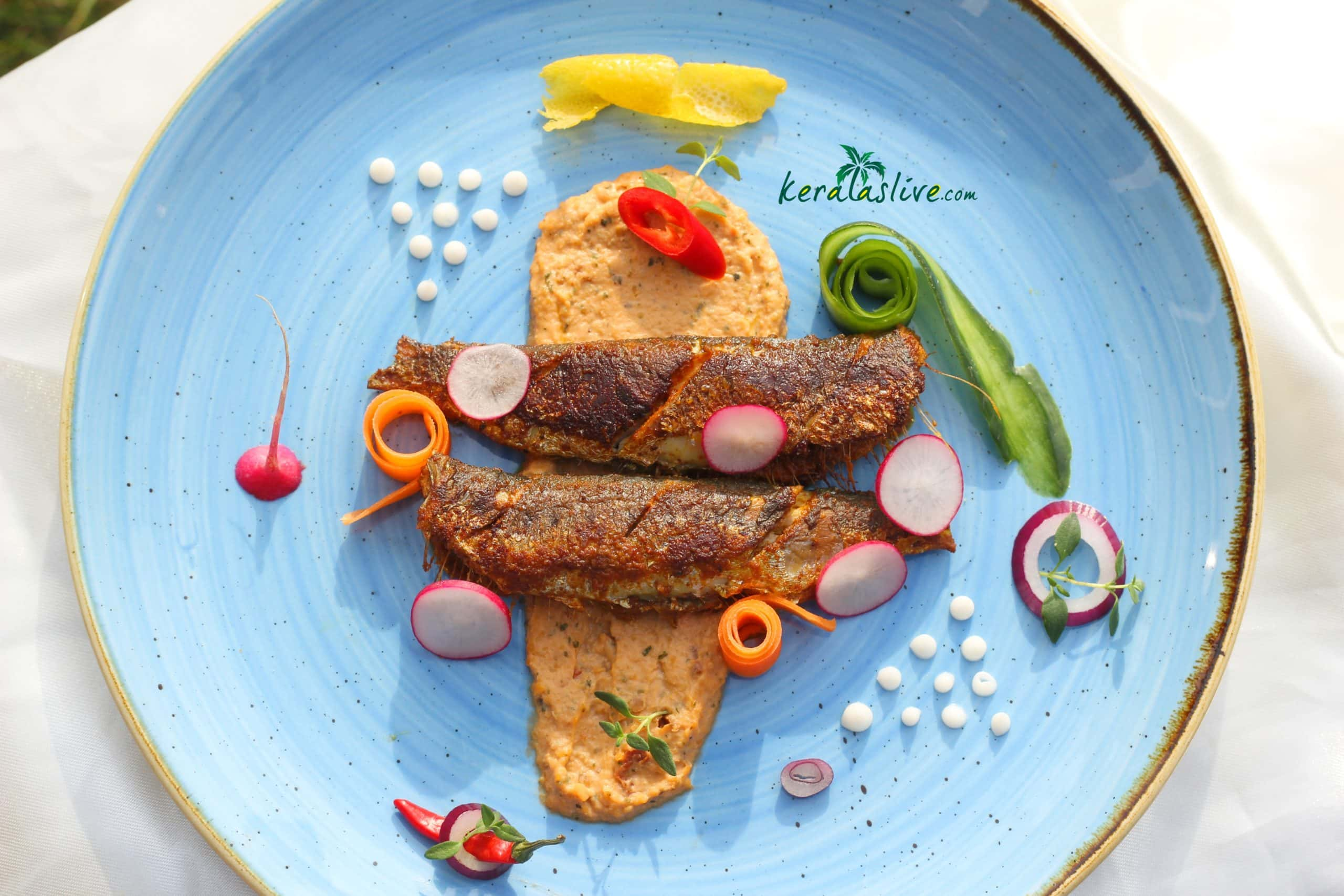 kerala spiced shallow fried sardines
