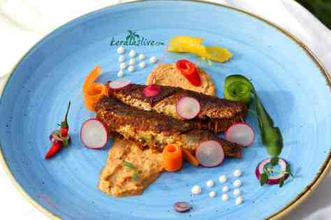 Kerala fish fry - If you are a fish lover try this!! So gorgeous is the smell and the taste. The food from kerala is simple, zesty, flavourful, and offers an intelligent combination of potent spices. Sardines is a popular fish to do a shallow fry, they are easy to prepare and tastes great.