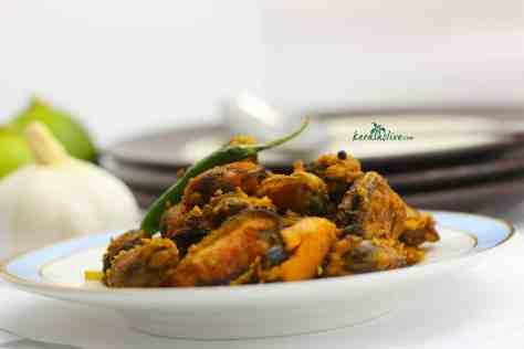 Kallummekkaya Olathiyathu / Spiced mussels fry - Kerala's popular attractions is its delicious Kerala cuisine.