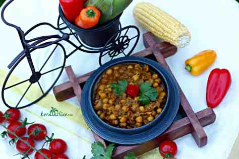 Channa masala - One of the most popular dishes in Indian cuisine—chickpeas cooked in a spicy and tangy tomato-based sauce—is the kind of dish that stirs passions among Indian chefs. I promise, it tastes damn good...