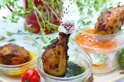 Kerala spiced chicken drumsticks - A traditional Kerala style chicken fry with aromatic masala. The piquant aroma and flavour of Kerala spices adds a unique touch to this chicken recipe...