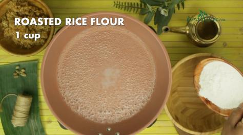 Roasted rice flour one cup