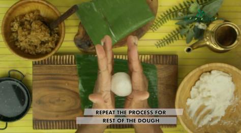 repeat the process for rest of the dough
