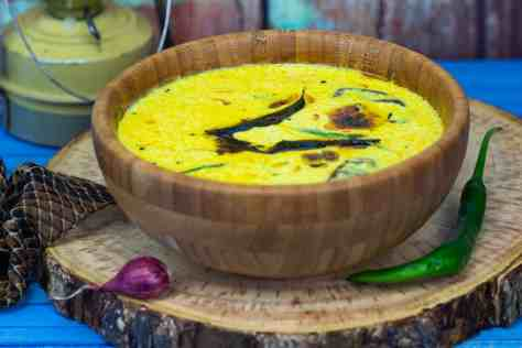 picture of prepared moru curry