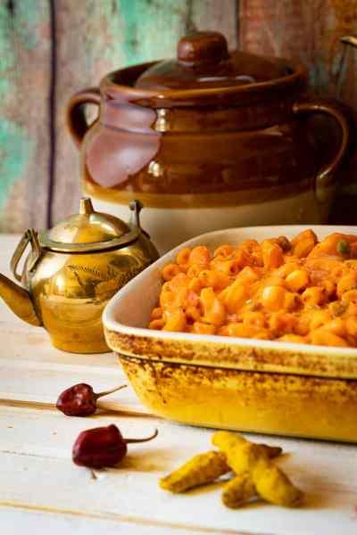 Indian macaroni cheese