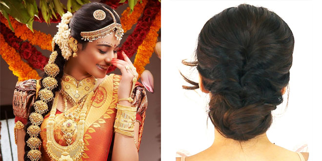Unique Hairstyle Ideas Appropriate For Kerala Wedding Sarees