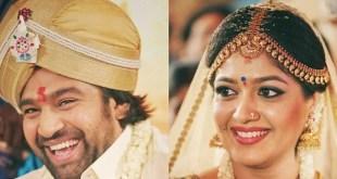 Actress Meghana Raj Marriage Photos