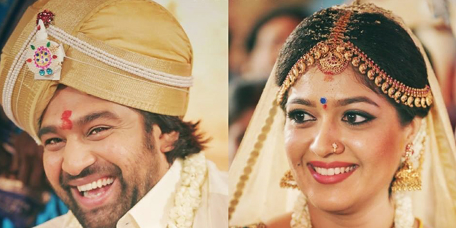 Actress Meghana Raj Marriage Photos