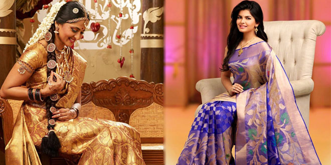 Wedding Silk Sarees for Bride
