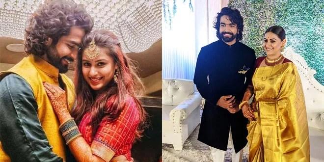 Sidharth Menon married Marathi actress Tanvi