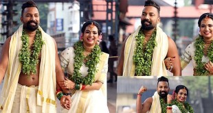 Actress Saranya Anand Wedding Photos