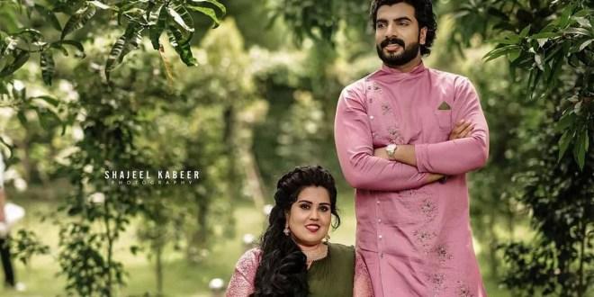 Anoop Krishnan Engagement Photos