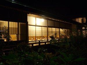 Koya-san Essensraum im Tempel