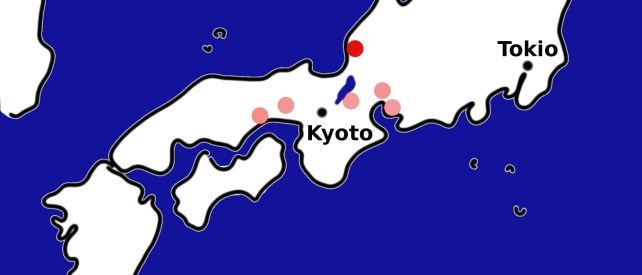 Echizen (Japan Karte)