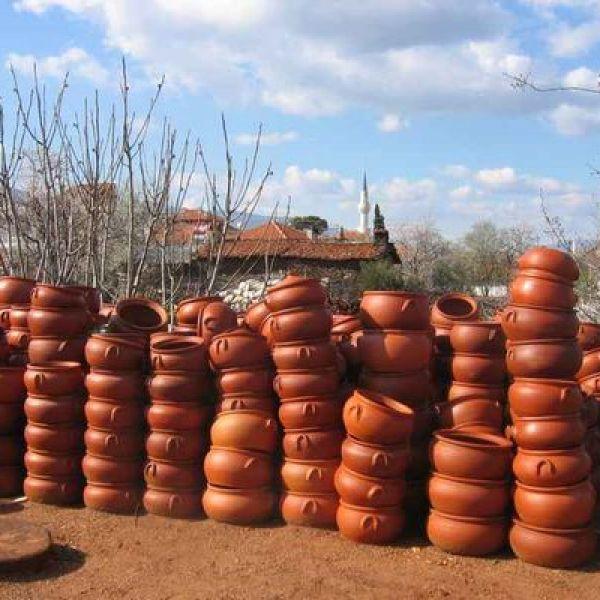 Töpferort Karacasu in der Türkei