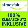 atmosfair 100% Klimaschutz inklusive