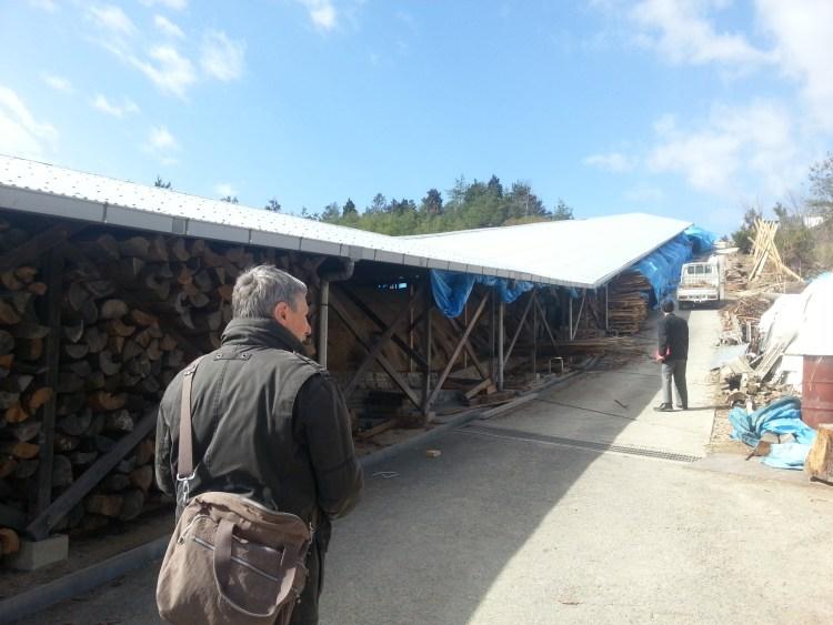 85 m langer Brennofen in Bizen , Japan