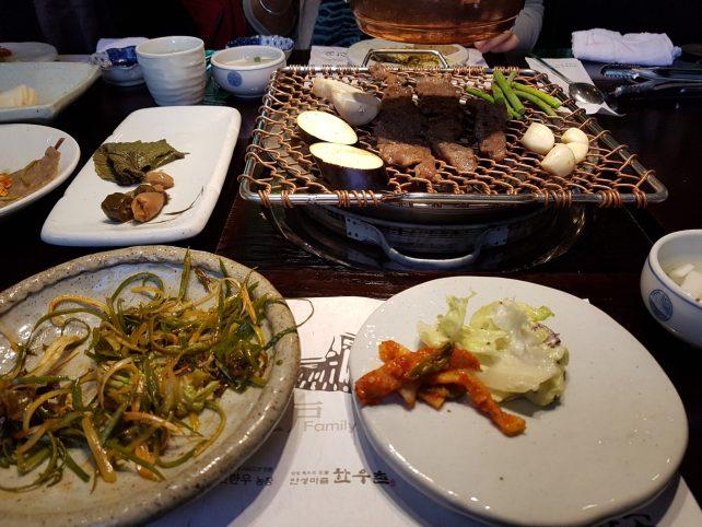 Koreanisches Mittagessen