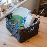 der Korb zum Mitnehmen aus der Keramikkiste