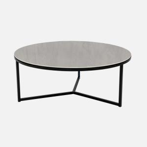 Keramische tafels Salontafel Rond Concreto Julia