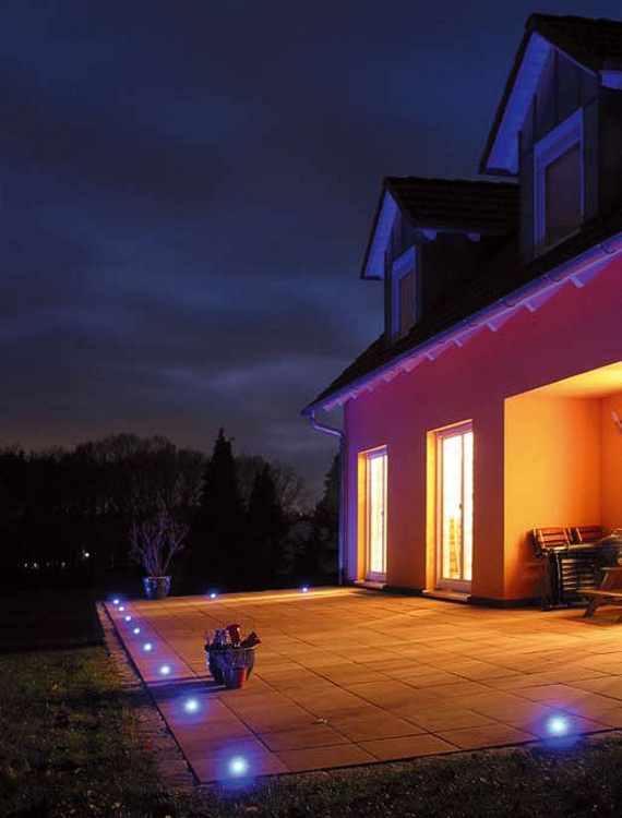 Lichtakzentpunkte Einbaustrahler Fliesenlicht Dotspot Dot