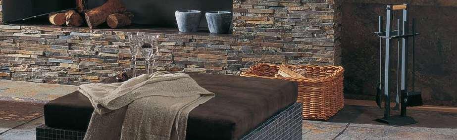wandverkelidung steinoptik steinwand im wohnzimmer dekosteine wand ... - Schiefer Wand Wohnzimmer
