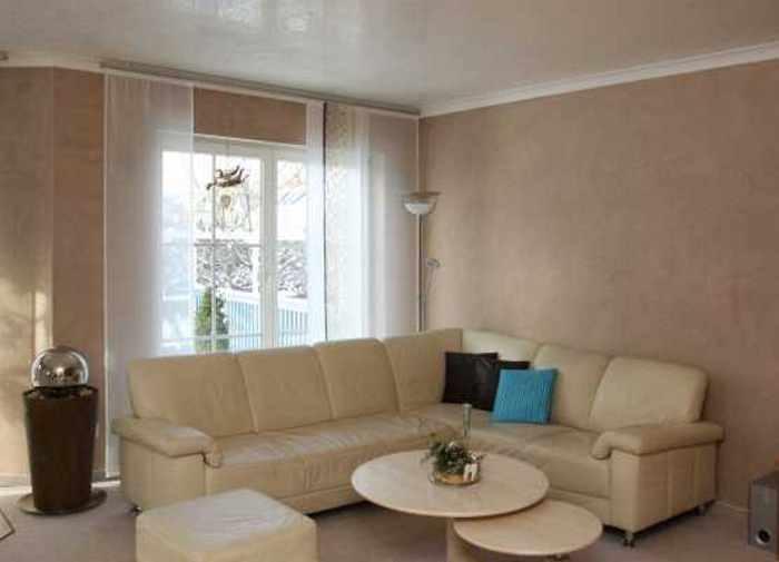 Design Wohnzimmer Grau Violett Farbgestaltung Lila Modern Dekoo
