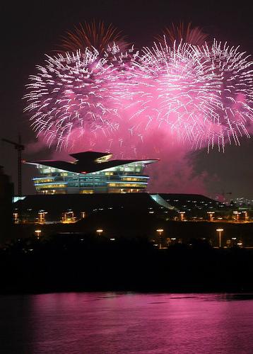 Pertandingan Bunga Api Antarabangsa di Putra Jaya