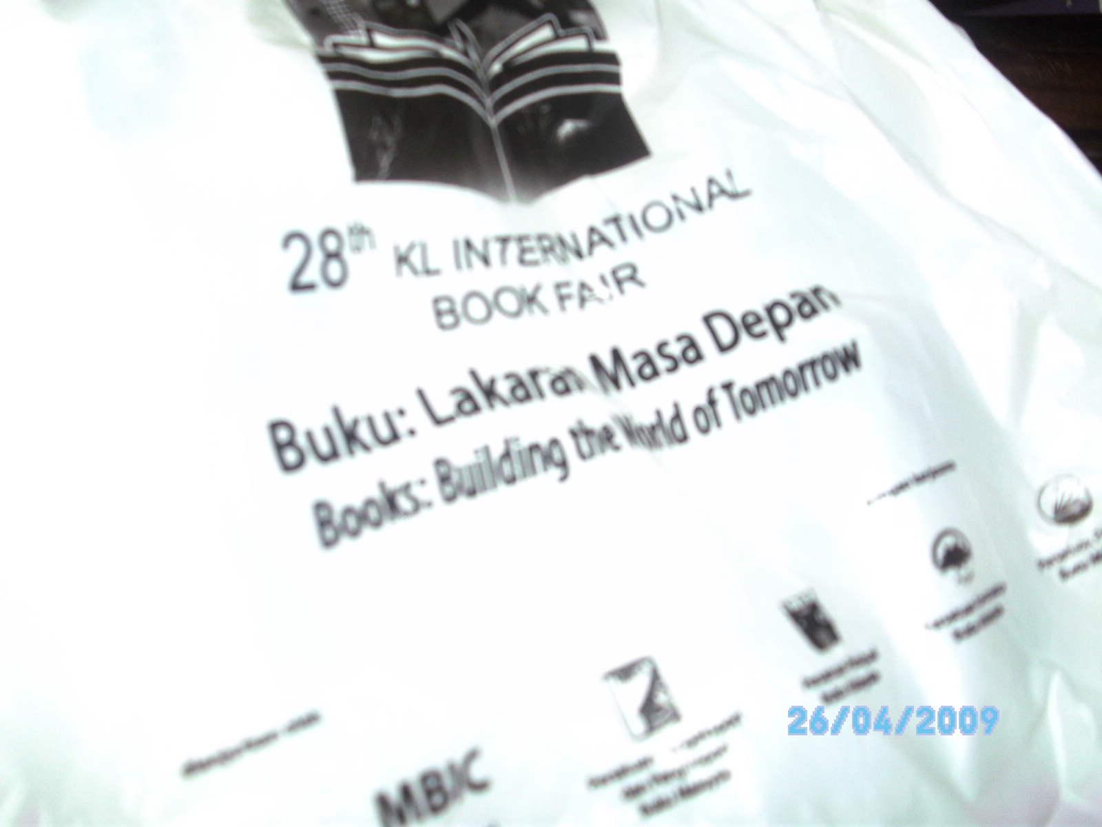 Beg plastik rasmi PBAKL09
