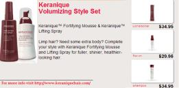 Keranique Thicker Fuller Hair Kit