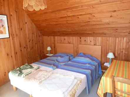 Appartement-8- Chambre 2 personnes plage de Kervel proche du GR34