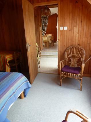 Appartement-8- Chambre avec vue sur mer et la plage de Kervel