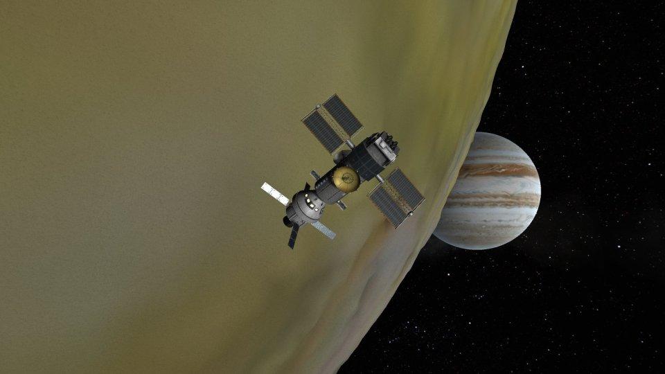 Jupiter Station mods KSRSS