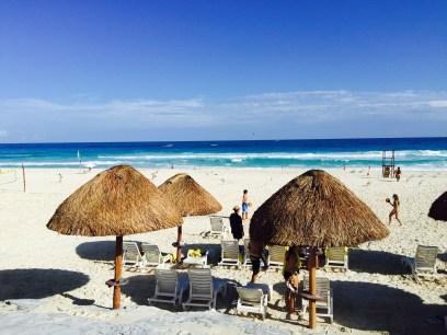 Cancun Beach at Park Royal Hotel.